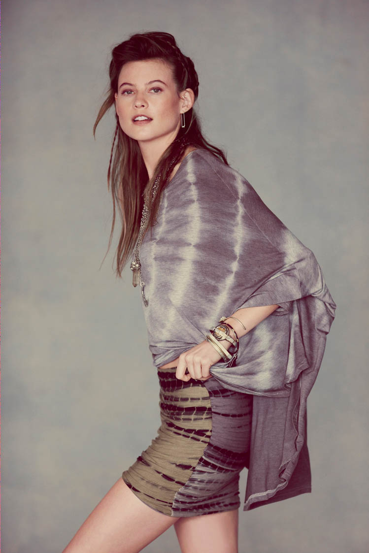 free people behati prinsloo14 Behati Prinsloo Fronts Free Peoples June e Catalog