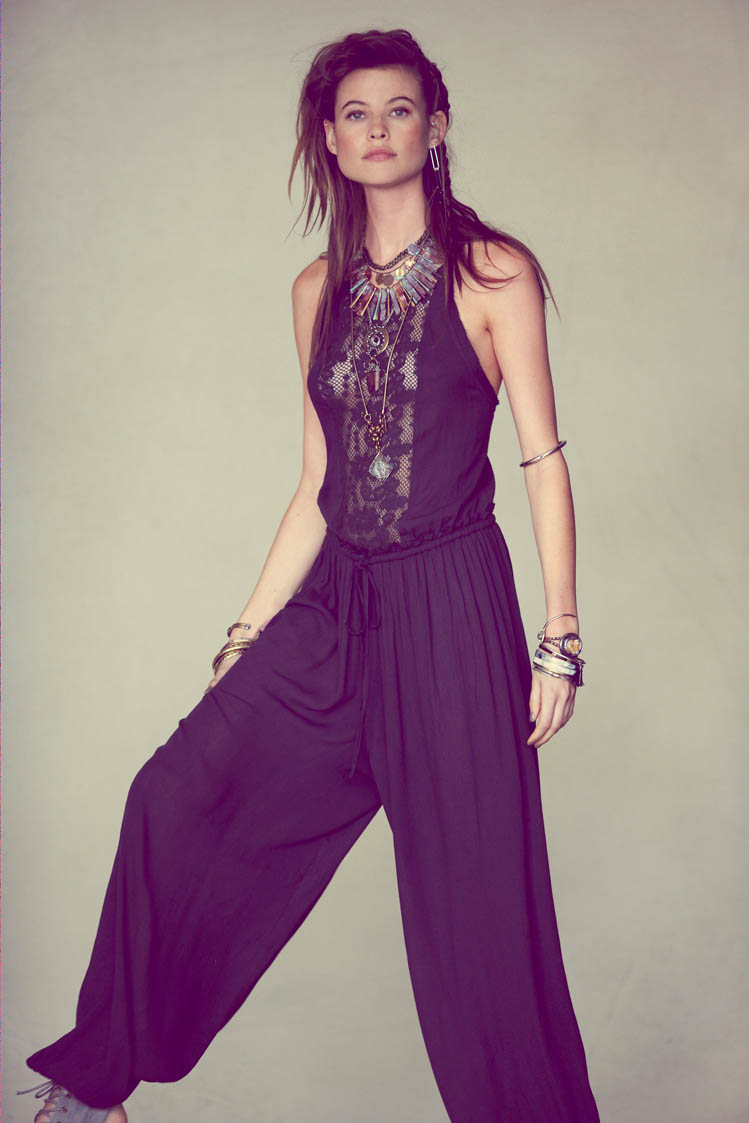free people behati prinsloo3 Behati Prinsloo Fronts Free Peoples June e Catalog