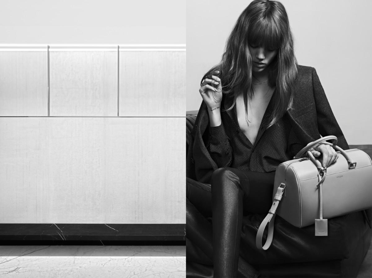 Freja Beha Erichsen Stars in Saint Laurent Pre-Fall 2013 Campaign by Hedi Slimane