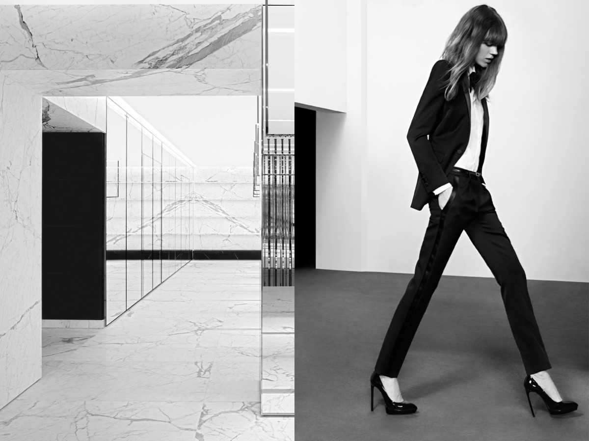 freja beha saint laurent4 Freja Beha Erichsen Stars in Saint Laurent Pre Fall 2013 Campaign by Hedi Slimane