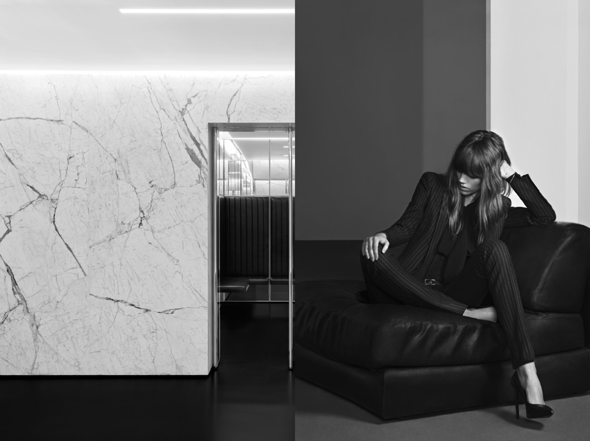 freja beha saint laurent5 Freja Beha Erichsen Stars in Saint Laurent Pre Fall 2013 Campaign by Hedi Slimane