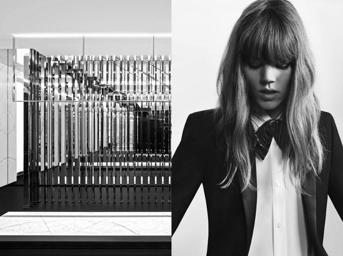 freja beha saint laurent6 Freja Beha Erichsen Stars in Saint Laurent Pre Fall 2013 Campaign by Hedi Slimane