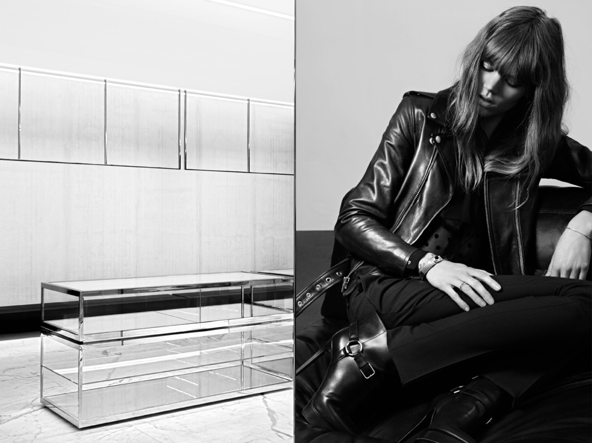 freja beha saint laurent7 Freja Beha Erichsen Stars in Saint Laurent Pre Fall 2013 Campaign by Hedi Slimane