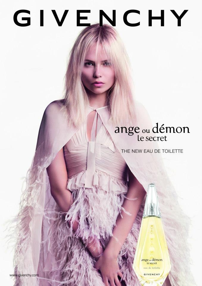 givenchy ange ou demon Natasha Poly Stars in Givenchy Ange ou Démon Le Secret Fragrance 2013 Campaign