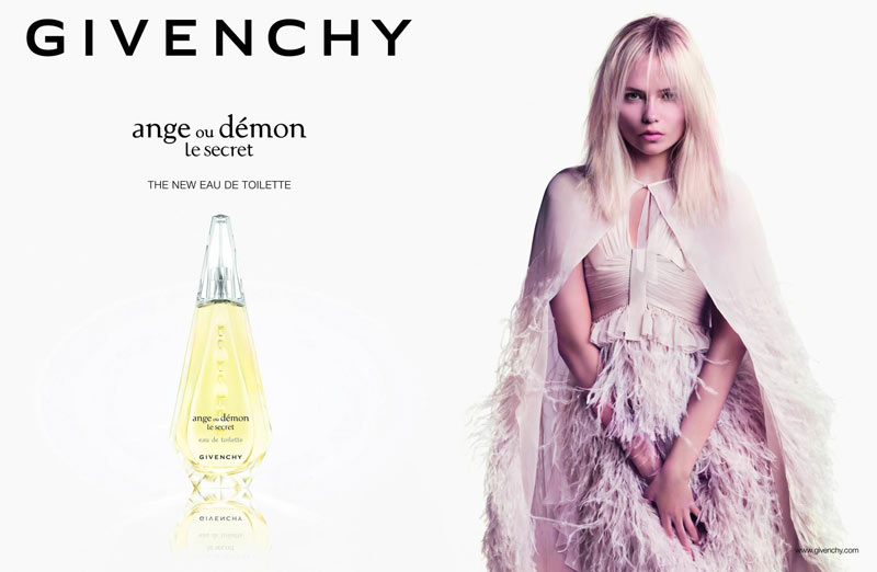 givenchy ange ou demon1 Natasha Poly Stars in Givenchy Ange ou Démon Le Secret Fragrance 2013 Campaign