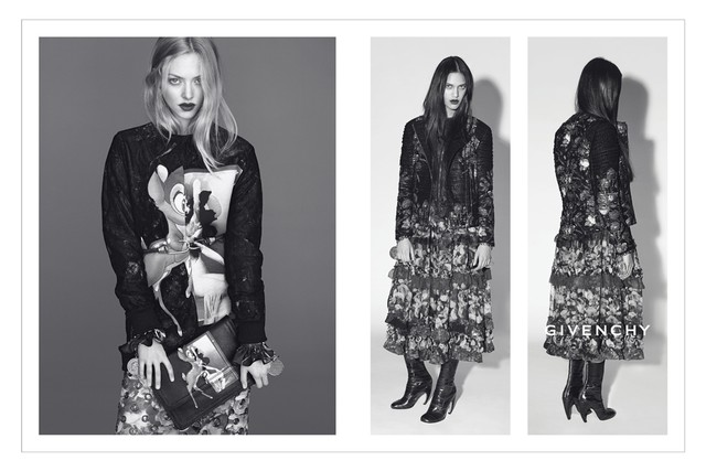 givenchy fall amanda seyfried Amanda Seyfried and Dalianah Arekion Tapped for Givenchy Fall 2013 Campaign