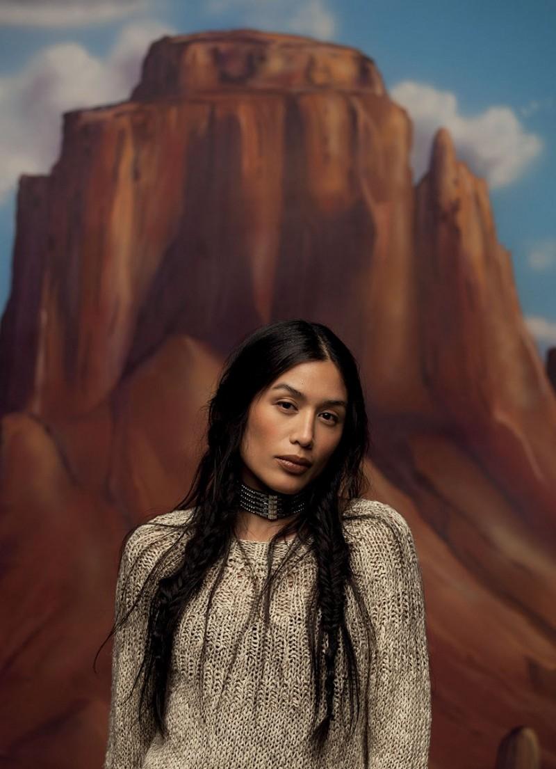 Ana Beatriz Barros Stars in Americana Spread for Grey Magazine by Peppe Tortora