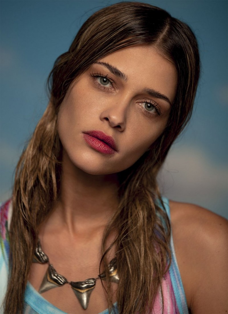 grey peppe tortora6 800x1103 Ana Beatriz Barros Stars in Americana Spread for Grey Magazine by Peppe Tortora