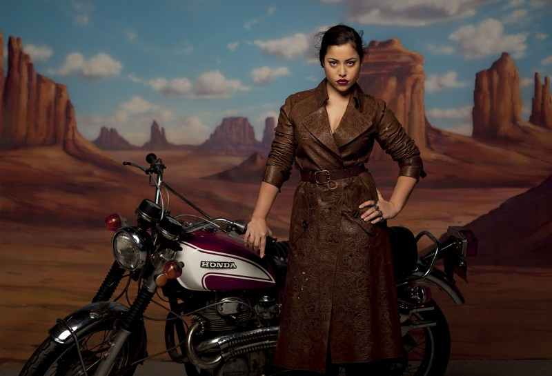 grey peppe tortora7 800x545 Ana Beatriz Barros Stars in Americana Spread for Grey Magazine by Peppe Tortora