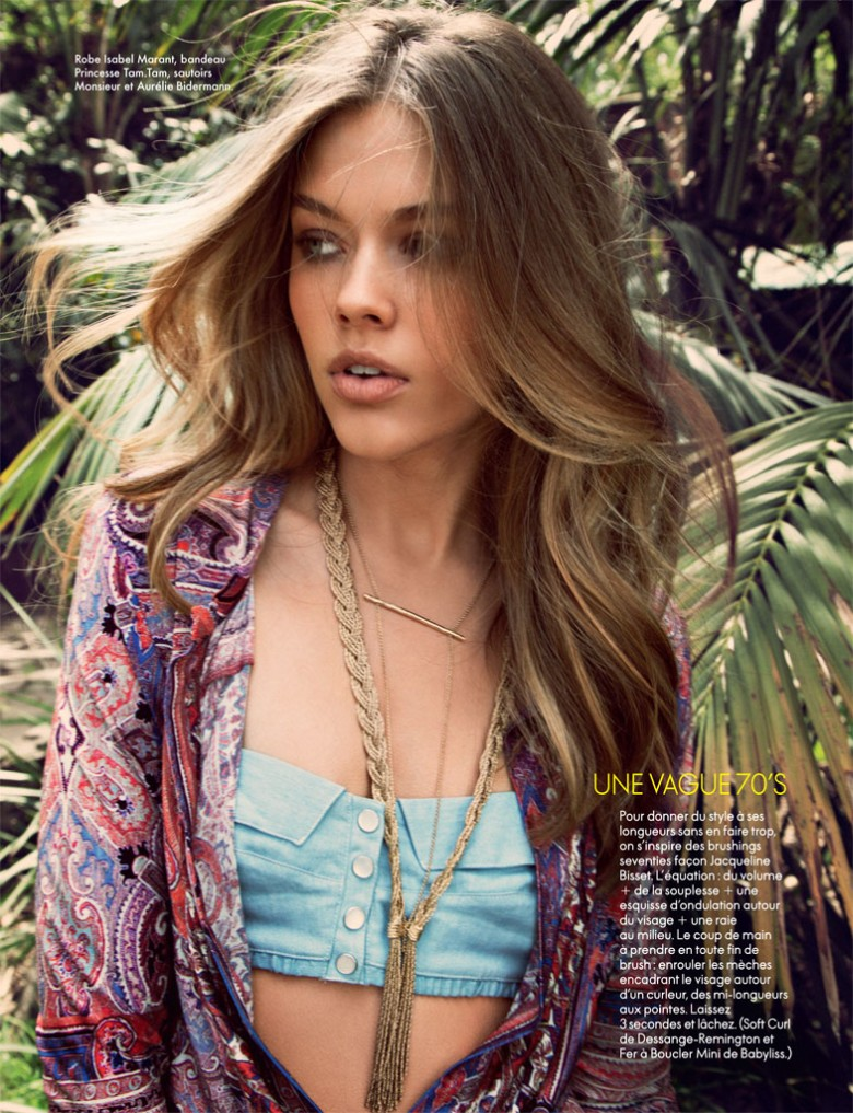 hilary walsh elle france3 Victoria Lee is A Natural Beauty for Elle France May 2013 by Hilary Walsh