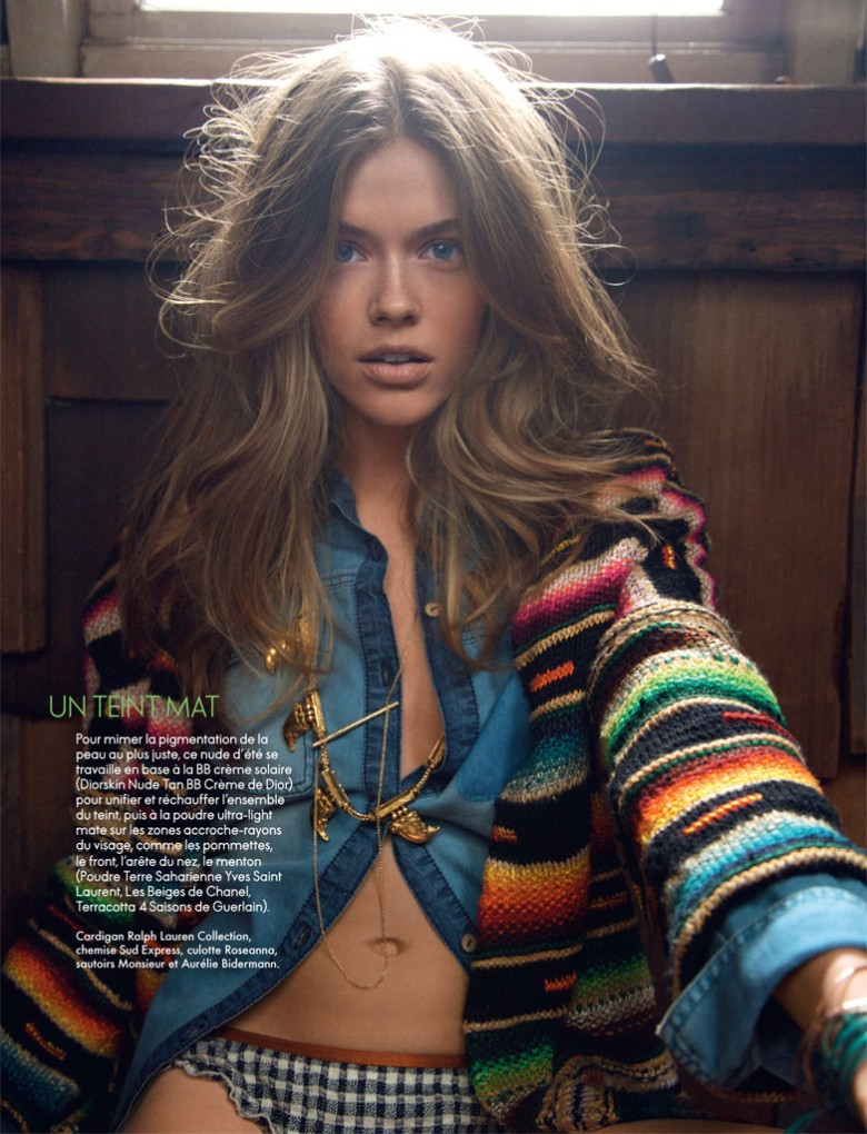 Victoria Lee is A Natural Beauty for Elle France May 2013 by Hilary Walsh