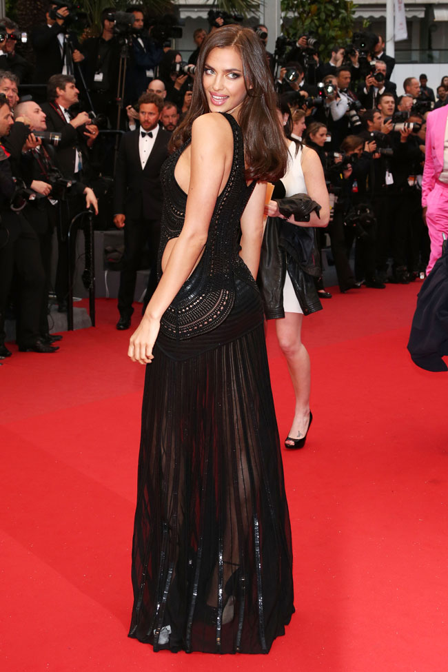 irina cavalli3 Irina Shayk is Sexy in Roberto Cavalli at the All is Lost Cannes Premiere
