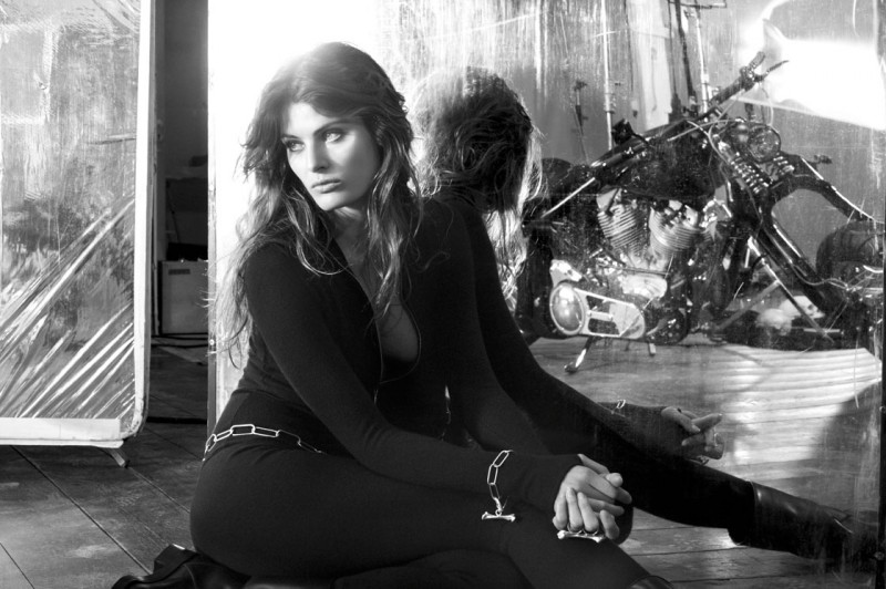isabeli redemption choppers4 800x532 Isabeli Fontana Fronts Redemption Choppers Spring 2013 Campaign
