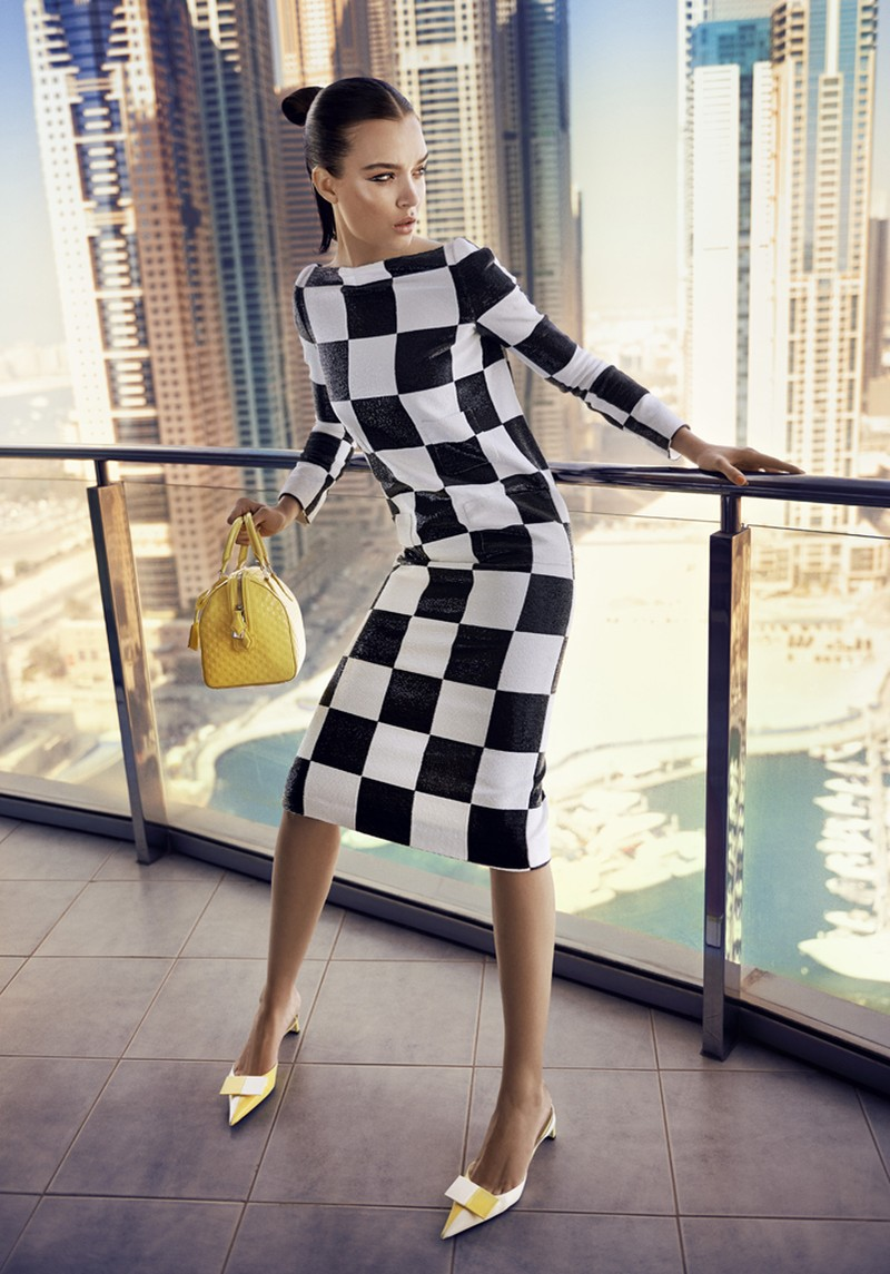 josephine skriver louis vuitton4 Josephine Skriver Dons Louis Vuitton for Eurowoman by Jonas Bie