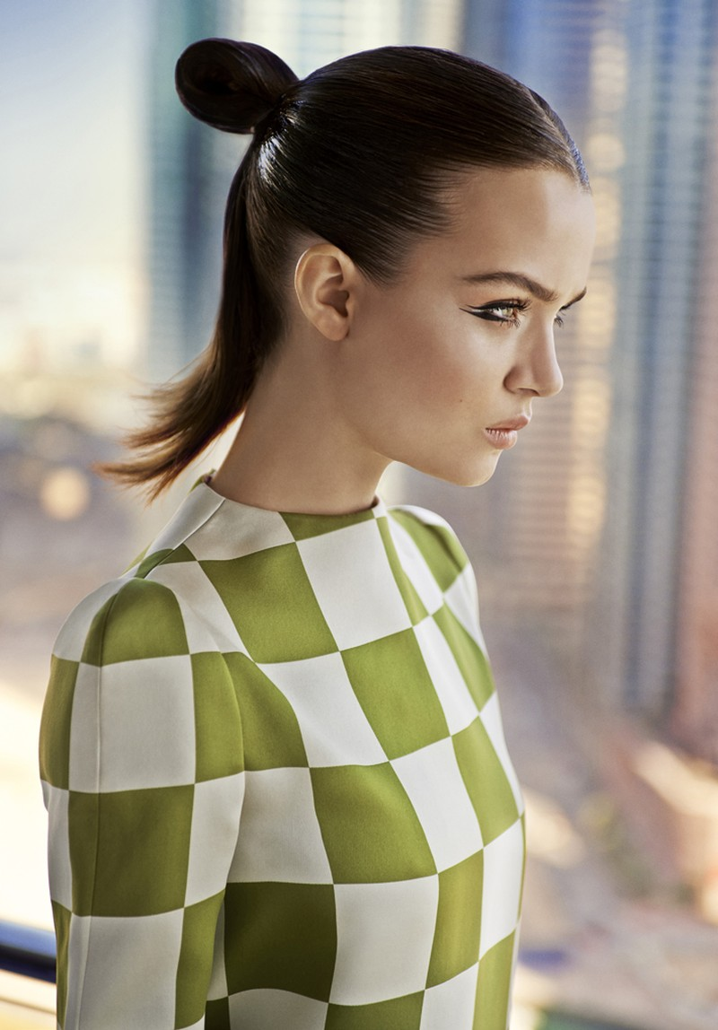josephine skriver louis vuitton5 Josephine Skriver Dons Louis Vuitton for Eurowoman by Jonas Bie