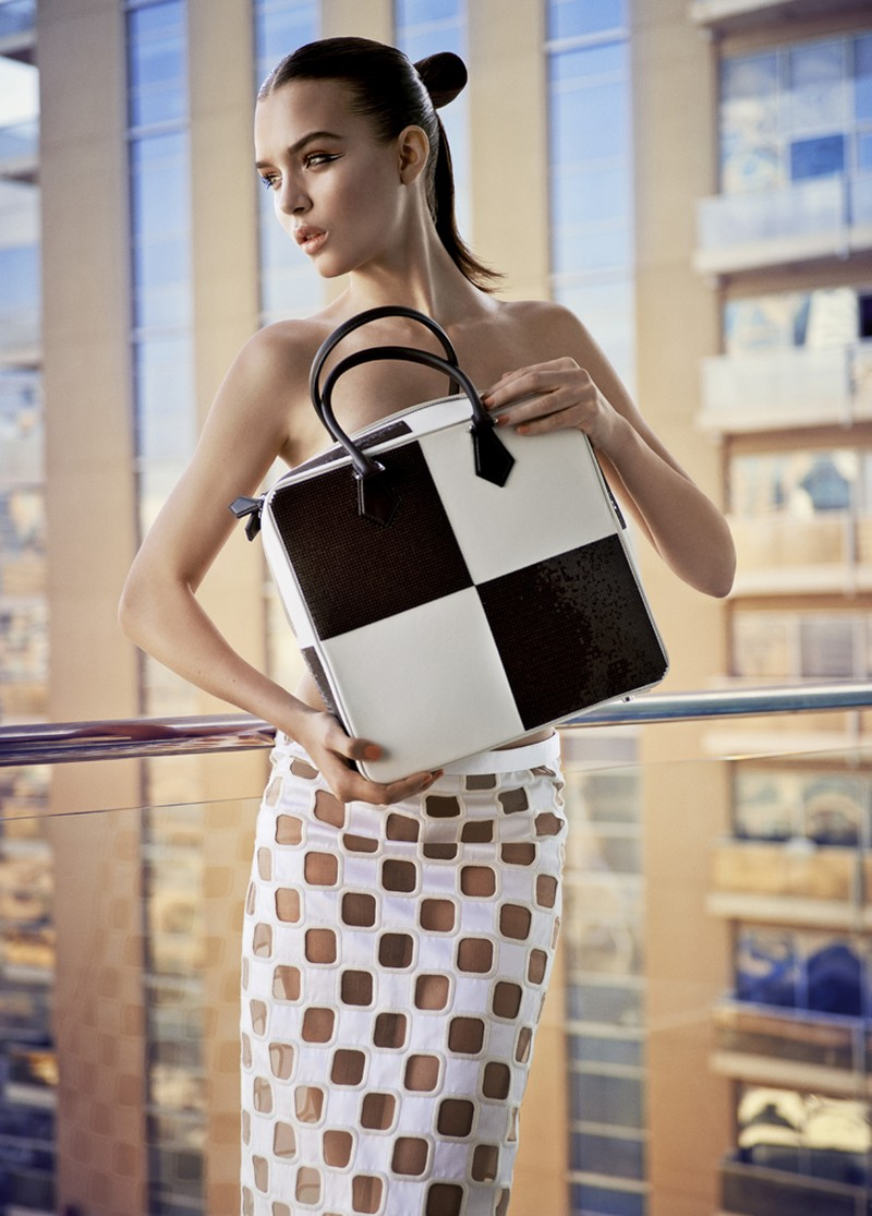 Josephine Skriver Dons Louis Vuitton for Eurowoman by Jonas Bie