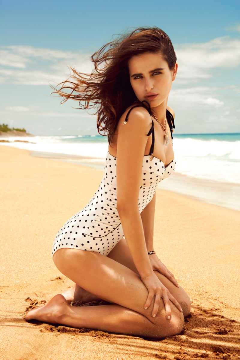 Loulou Robert Hits the Beach for Juicy Couture Summer 2013