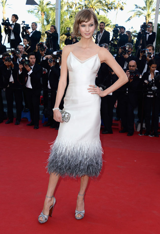 """Karlie Kloss Dons Louis Vuitton at """"The Immigrant"""" Cannes Film Festival Premiere"""