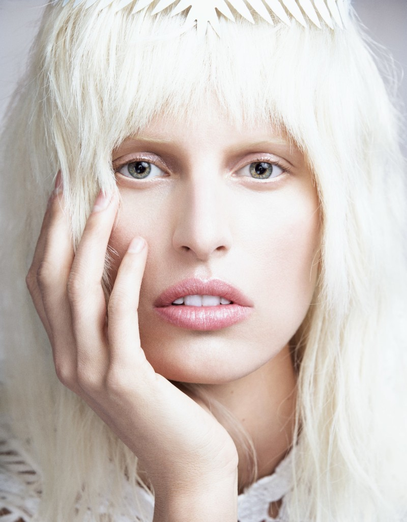 karolina kurkova numero2 Karolina Kurkova is a Flower Child for Numéro Tokyo June 2013 by Nino Muñoz