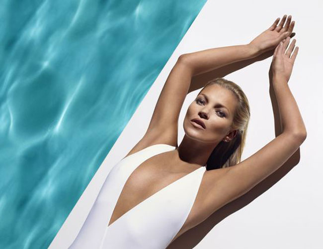 kate moss st tropez Kate Moss is the Tanned New Face of St. Tropez