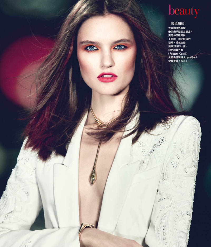 katie fogarty vogue taiwan4 Katie Fogarty is A Rebel in Red for Vogue Taiwan May 2013 by Yossi Michaeli