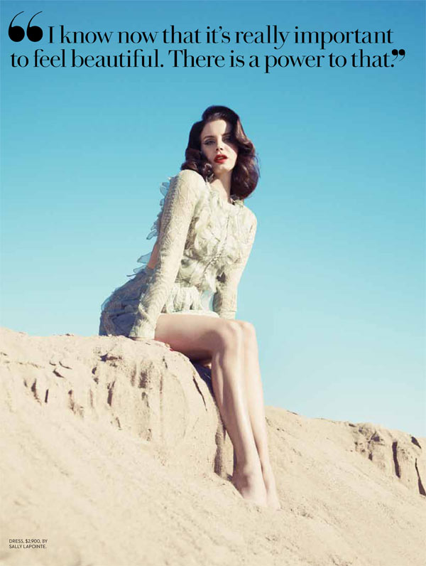 Lana Del Rey Turns Up the Glam for Fashion Magazine's Summer 2013 Cover Shoot