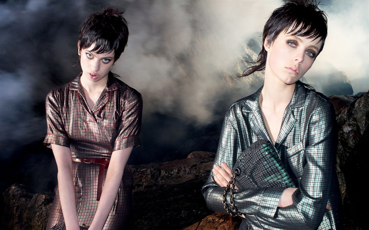 Edie Campbell and Lily McMenamy Land Marc Jacobs Fall 2013 Campaign
