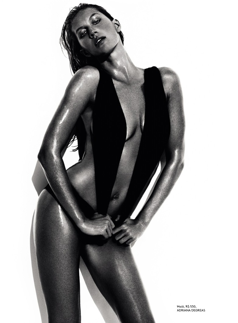 mario testino gisele9 Gisele Bundchen Wows for Vogue Brazil June 2013 by Mario Testino
