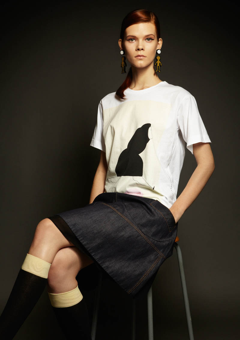 marni winter collab4 Marni Collaborates with Artist Romina Quiros on Winter 2013 Denim Collection