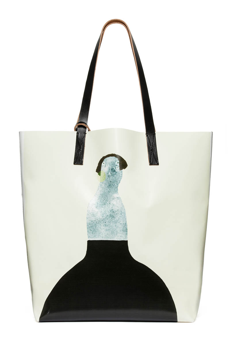 Marni Collaborates with Artist Romina Quiros on Winter 2013 Denim Collection