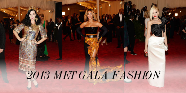 met gala Slideshow: Jennifer Lawrence in Dior, Amanda Seyfried in Givenchy, Katy Perry in Dolce & Gabbana and More 2013 Met Gala Looks