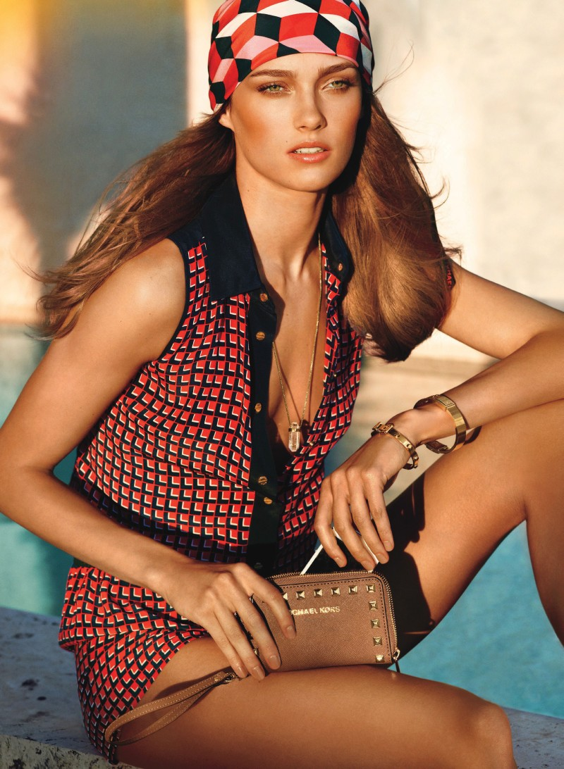 Michael Kors' Sunny Summer 2013 Catalogue Stars Karmen Pedaru
