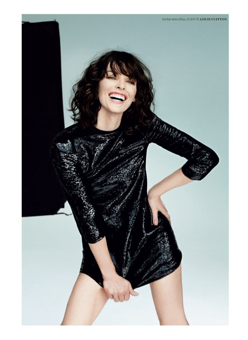 milla jovovich vogue turkey10 Milla Jovovich Gets Jovial in Vogue Turkey's May 2013 Edition by Sebastian Faena
