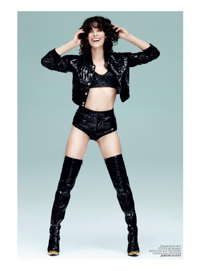 Milla Jovovich Gets Jovial In Vogue Turkey S May 2013