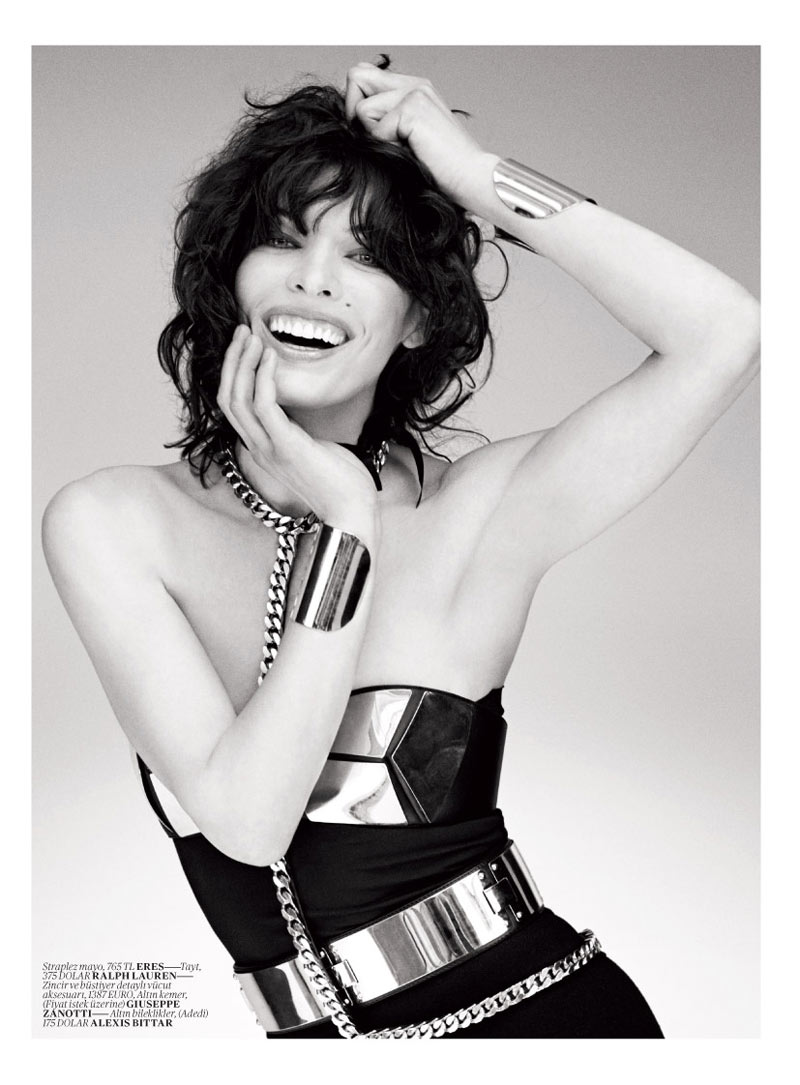 milla jovovich vogue turkey4 Milla Jovovich Gets Jovial in Vogue Turkey's May 2013 Edition by Sebastian Faena