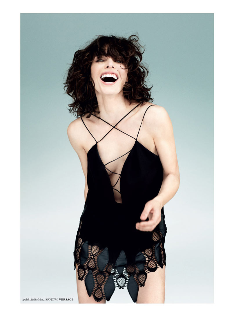 milla jovovich vogue turkey5 Milla Jovovich Gets Jovial in Vogue Turkey's May 2013 Edition by Sebastian Faena