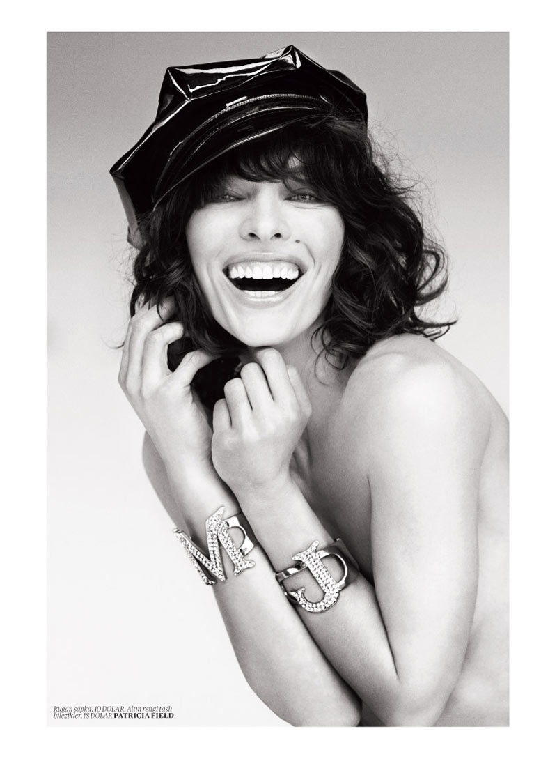 milla jovovich vogue turkey6 Milla Jovovich Gets Jovial in Vogue Turkey's May 2013 Edition by Sebastian Faena