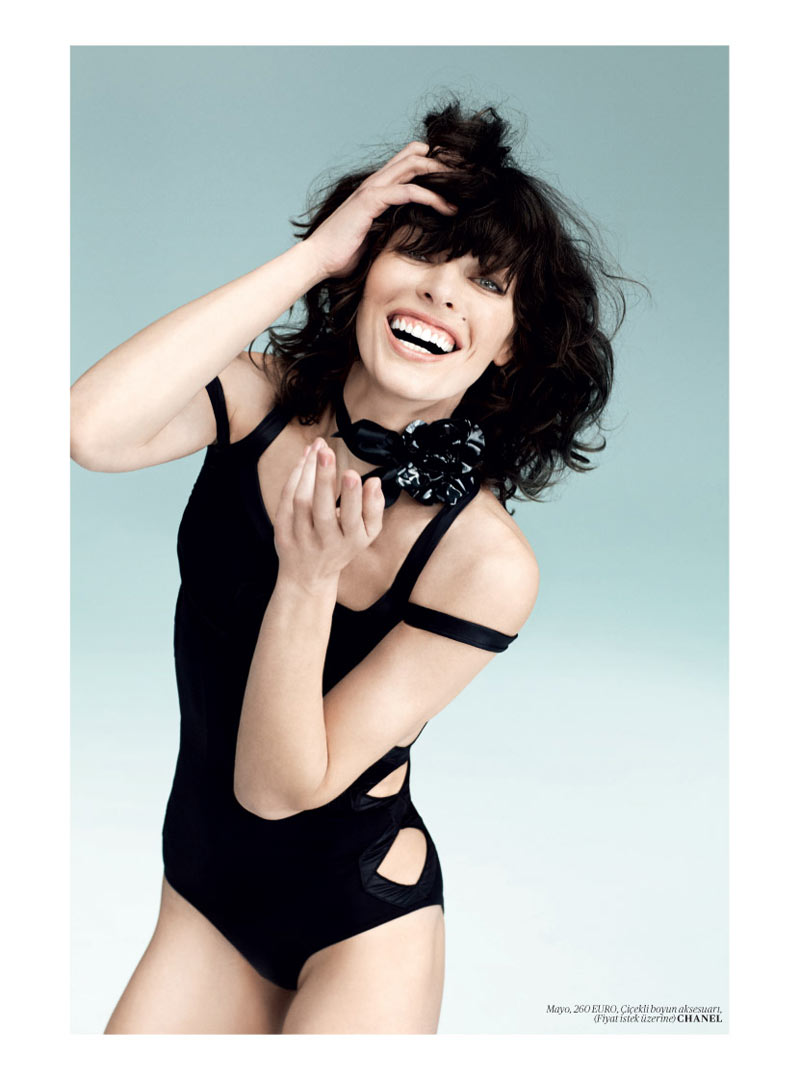 milla jovovich vogue turkey7 Milla Jovovich Gets Jovial in Vogue Turkey's May 2013 Edition by Sebastian Faena