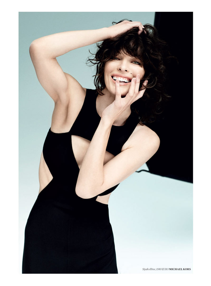 milla jovovich vogue turkey9 Milla Jovovich Gets Jovial in Vogue Turkey's May 2013 Edition by Sebastian Faena