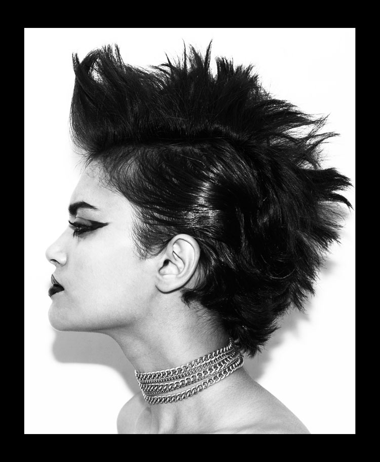natasha gianluca santoro2 Natasha Ramachandran by Gianluca Santoro in Punk Beauty for Fashion Gone Rogue