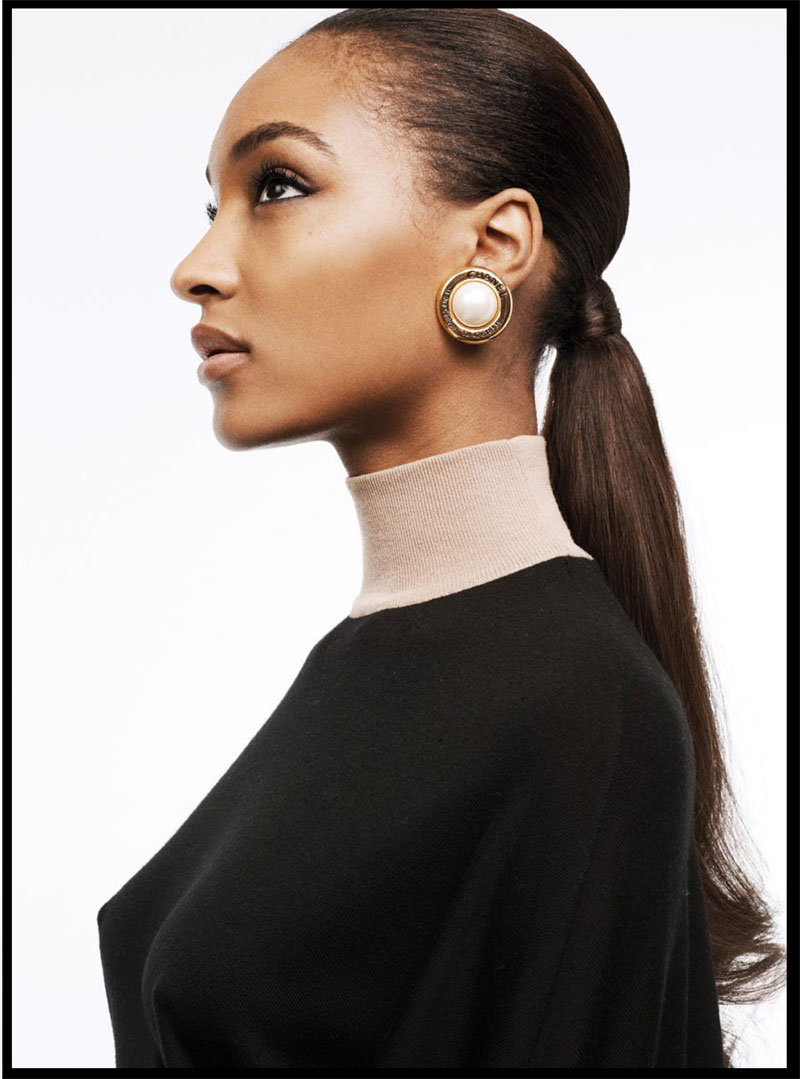 russh jourdan dunn shoot11 Jourdan Dunn is the Star of Russhs June/July 2013 Cover Shoot