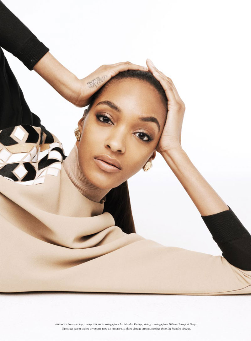 russh jourdan dunn shoot14 Jourdan Dunn is the Star of Russhs June/July 2013 Cover Shoot