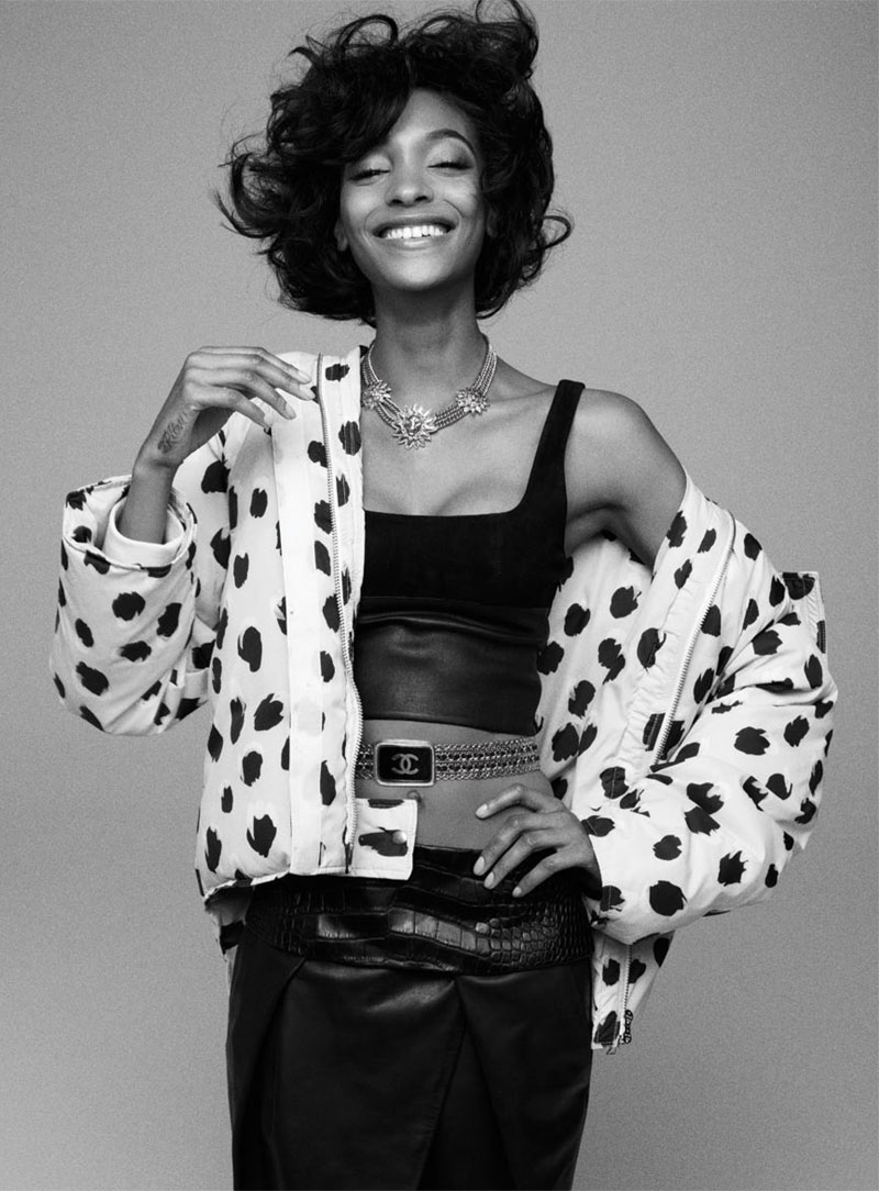 russh jourdan dunn shoot16 Jourdan Dunn is the Star of Russhs June/July 2013 Cover Shoot