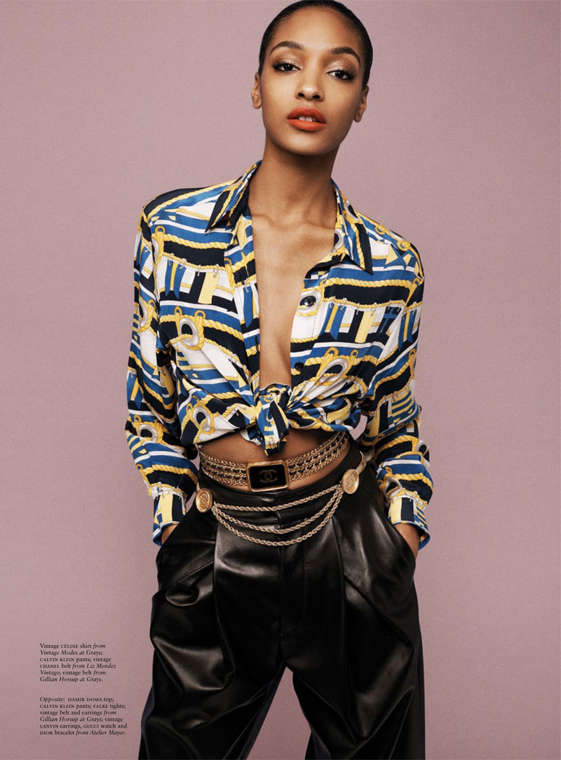 russh jourdan dunn shoot6 Jourdan Dunn is the Star of Russhs June/July 2013 Cover Shoot