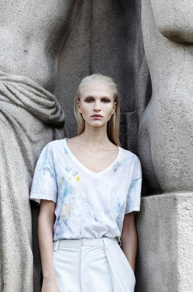 statue blanc7 Yulia Lobova by Emily Laye in Statue Blanc for Fashion Gone Rogue