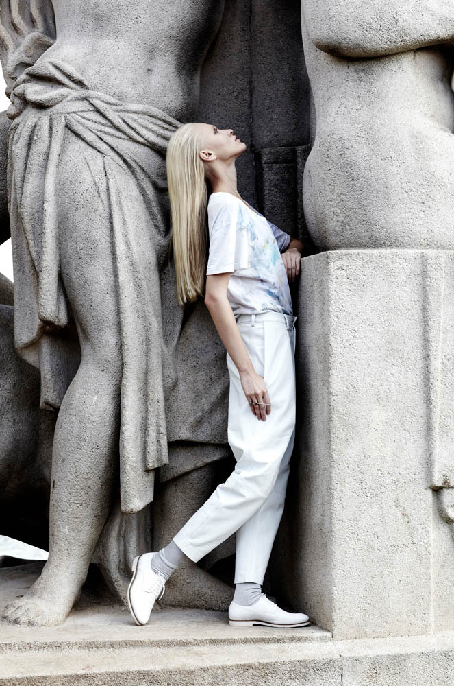 statue blanc8 Yulia Lobova by Emily Laye in Statue Blanc for Fashion Gone Rogue