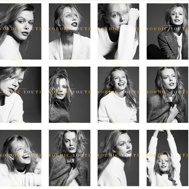 Frida Gustavsson Graces 5,000 Unique Covers for Scandinavia S/S/A/W
