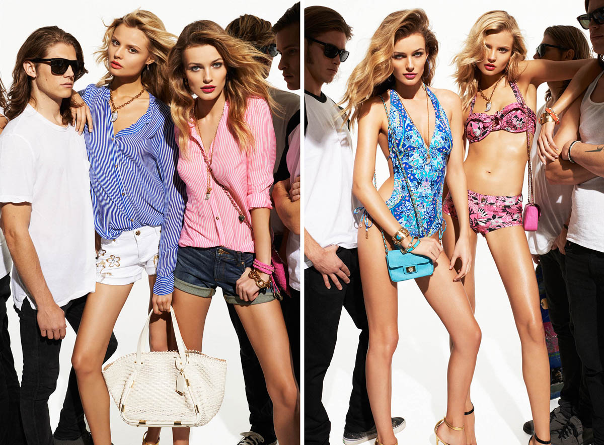 Juicy Couture Taps Edita Vilkeviciute and Magdalena Frackowiak for Summer 2013