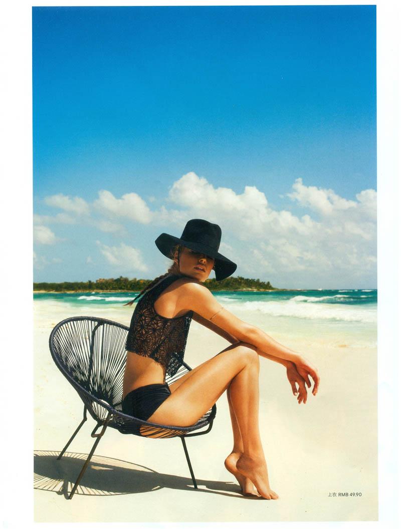 Doutzen Kroes Stars in H&M Magazine Summer 2013 by Terry Richardson