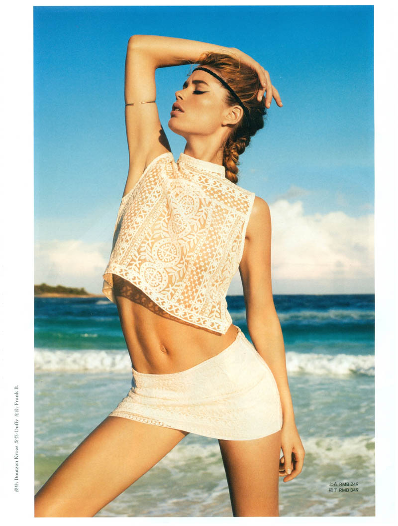 terry richardson doutzen kroes9 Doutzen Kroes Stars in H&M Magazine Summer 2013 by Terry Richardson
